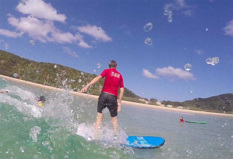 How paddling improves your surfing