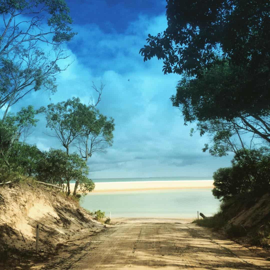 great beach drive, sunshine coast