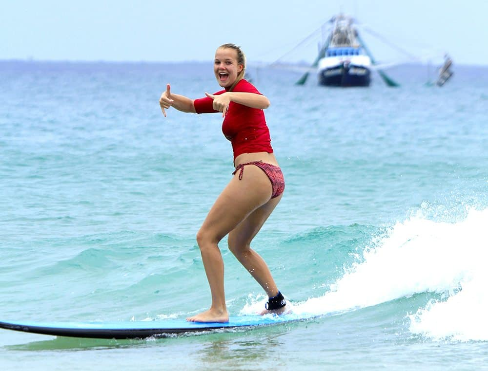 Benefits of Surf Lessons